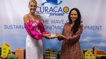 Ana Hickmann named Ambassador of Curaçao in Brazil
