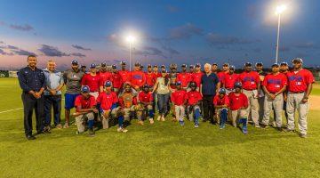 Minister Mc William and CTB Visiting MLB Elite Program