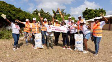 Ofisina di Turismo di Kòrsou tambe a partisipá na World Cleanup Day